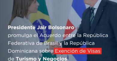 ¡Dominicanos a Brasil sin visa!